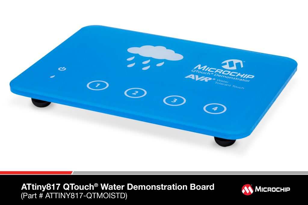 attiny817-qtouch-water-demonstration-board