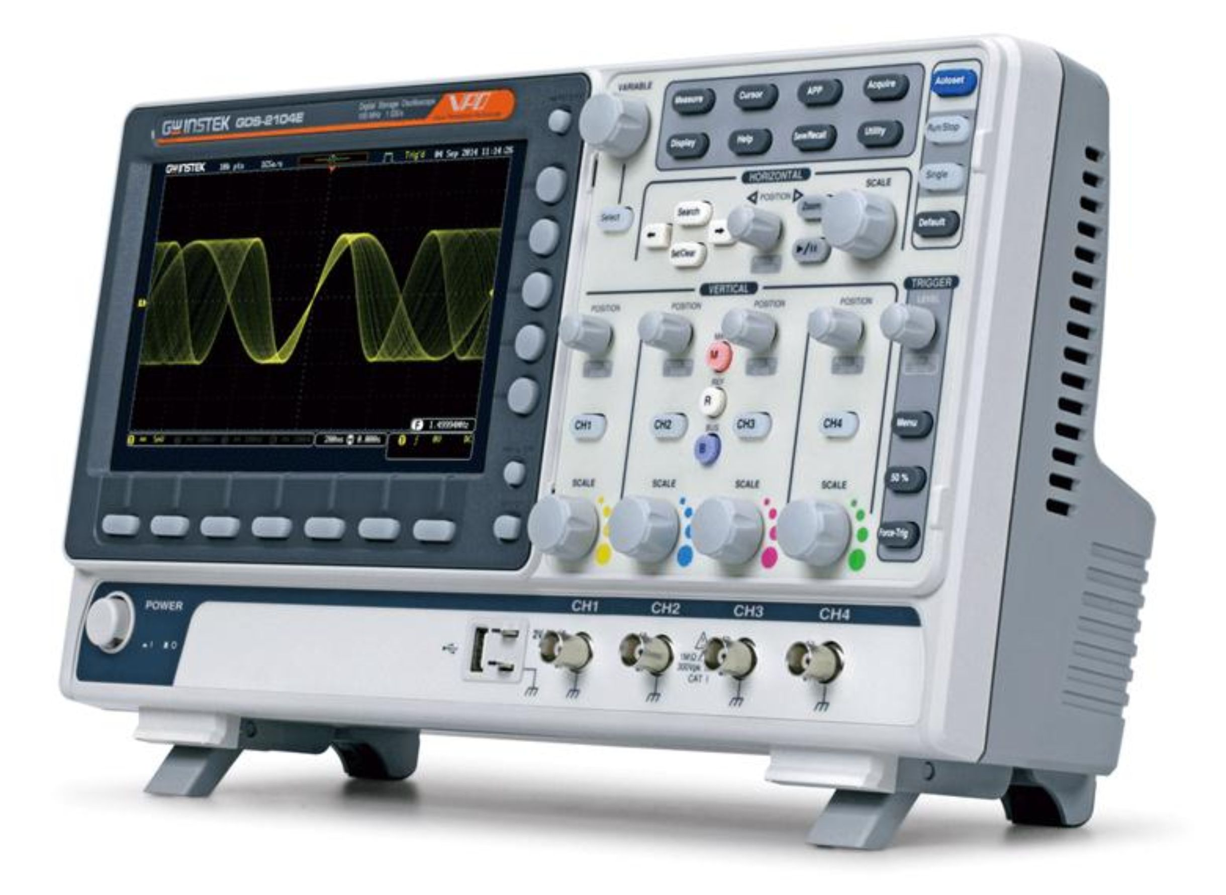 Digital Analog Oscilloscopes : Gw instek offers economic and efficient t m solutions for