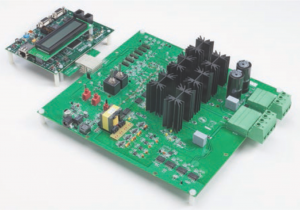 Figure 5. Analog Devices isolated inverter platform with fully featured IGBT gate drivers.