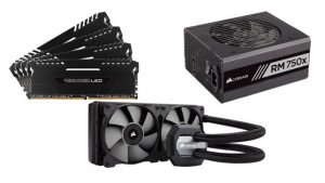 Corsair,CPU liquid coolers,Hydro Series Liquid CPU Coolers,Corsair power supplies,CES 2017