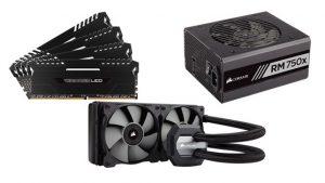 Corsair,CPU liquid coolers,Hydro Series Liquid CPU Coolers,Corsair power supplies,CES 2017