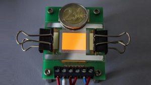OLED electrodes
