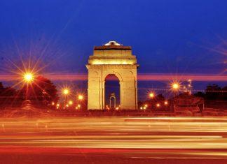 Delhi LED lights India Gate BSES