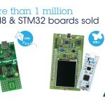 STM8 STM32 microcontrollers