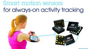 Smart Motion Sensors,STMicroelectronics,Social-Fitness