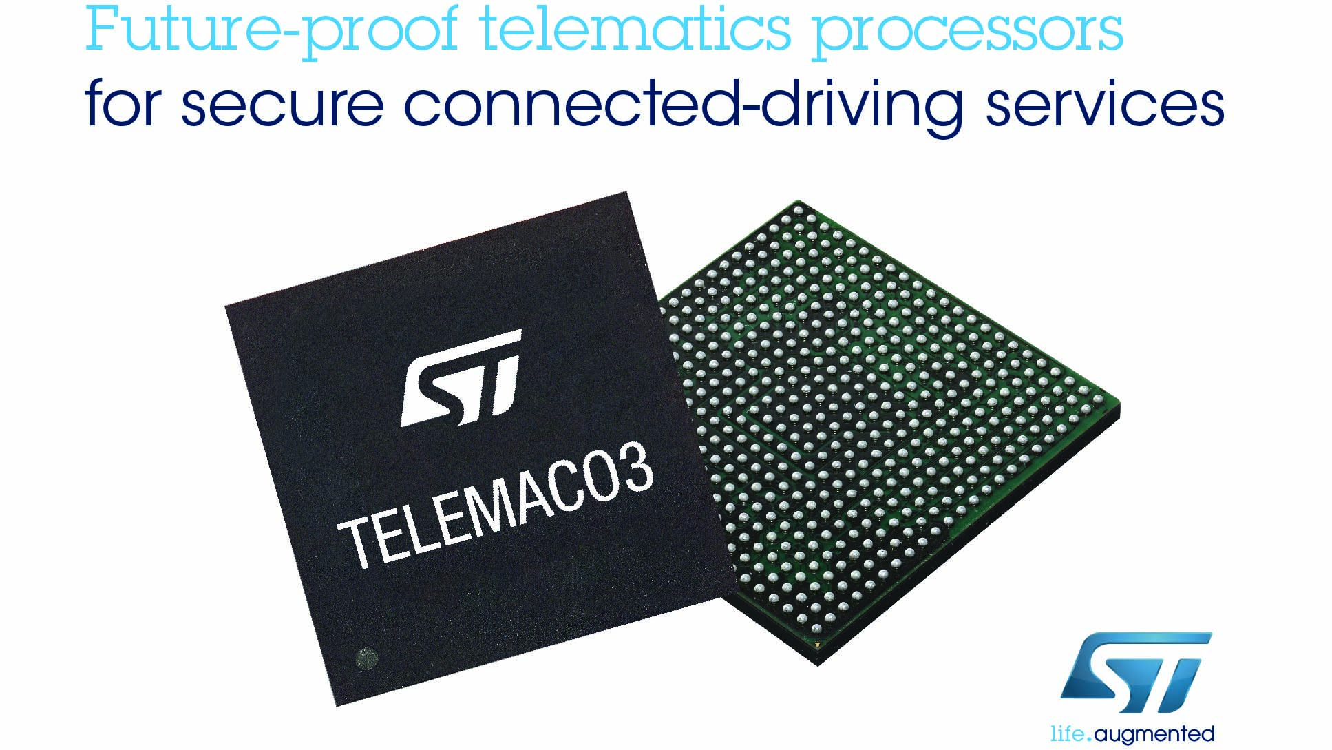 Stmicroelectronics Advances Single Chip Telematics Connectivity New Digital Power Amplifiers For Car Audio From Processors To Support Future Connected Driving Services
