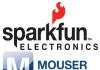 Mouser Sparkfun Electronics