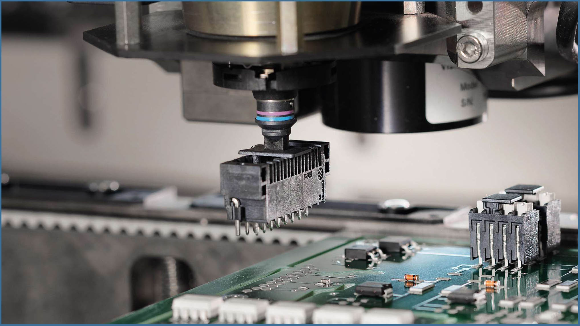 Surface Mount Technology Integration of device connection