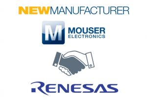 Mouser Electronics Partners with Renesas
