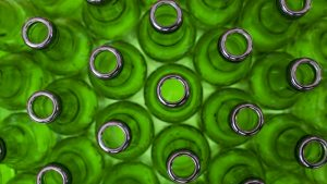 Waste Glass Bottles