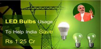 LED Bulbs Usage
