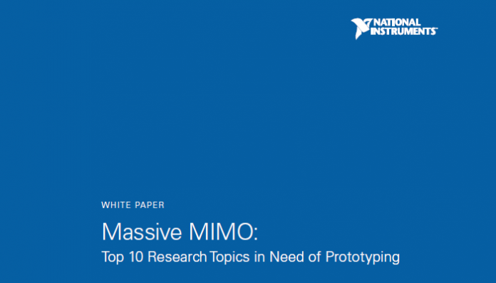 Massive MIMO easier by National Instrument's