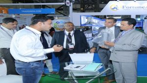 Rajaram Mane visits LED Expo_