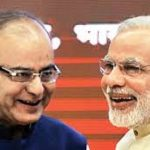 modi with arun jaitley