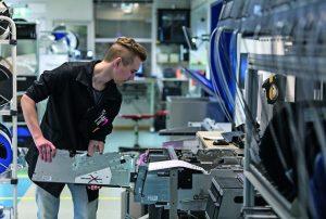 electronics production globally