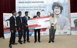 Chairman's Award_SriRamakrishna Institute of Technology_ IICDC 2016