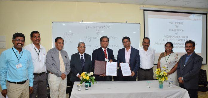 Keysight Technologies Works with Vignan University to Create