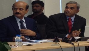 L-R-BVR Mohan Reddy, Founder and Executive Chairman, Cyient Anilkumar Muniswamy, Vice-Chairman, IESA