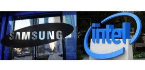 Samsung Intel chip