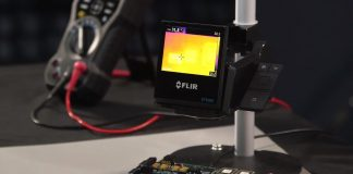 FLIR ETS320 element14 thermal imaging camera