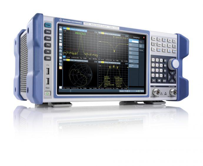 Compact, Lightweight R&S ZNLE Vector Network Analyzer