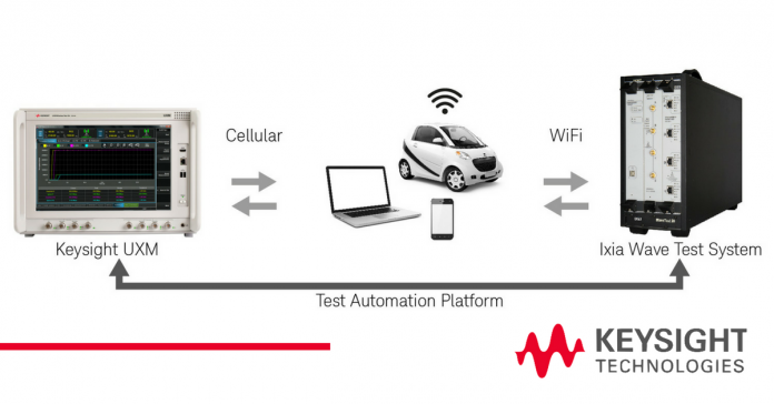 Keysight, and Ixia Solutions Brings Integrated Cellular +