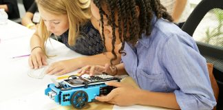 Texas-Instrument-Educational-Robot