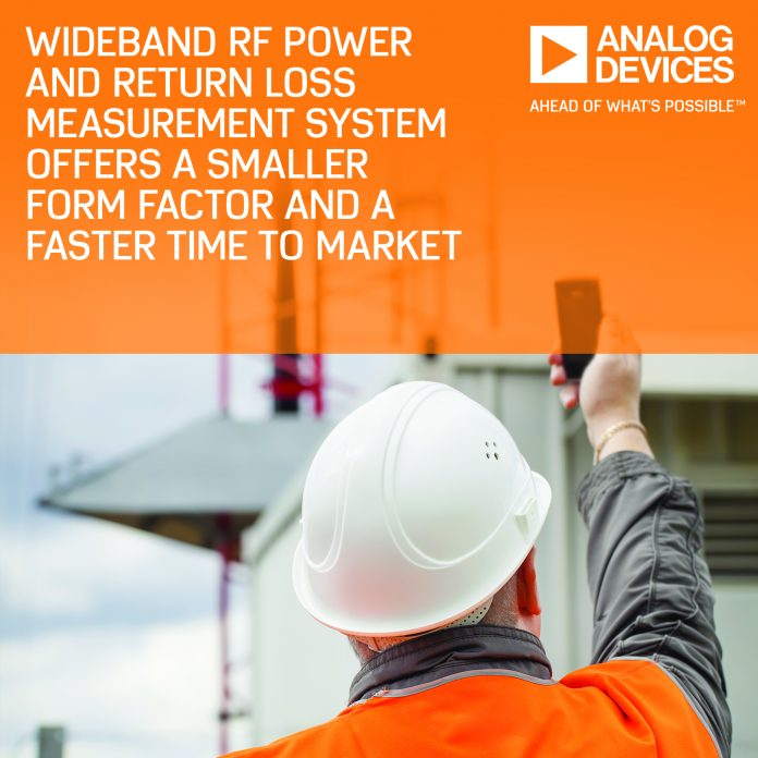 Wideband RF Power-Return-Loss-Measurement-System