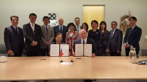 GaN Systems and Taiwan's Ministry of Economic Affairs sign Letter of Intent.