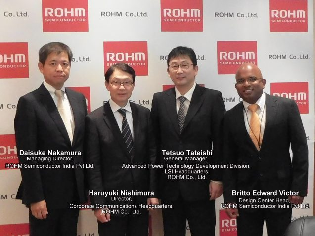 ROHM Eyeing Indian E-Vehicle Market with a foray of Energy Efficient Power Solutions