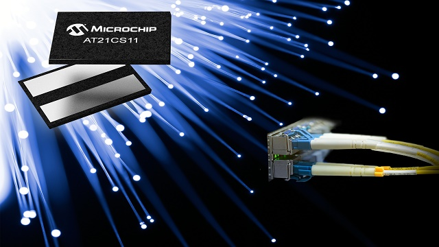 Single-wire serial EEPROM for remote identification by Microchip