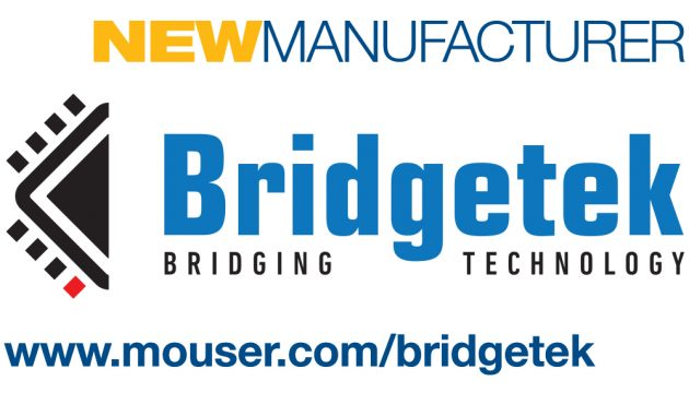 Mouser to Globally Distribute Products of Bridgetek, Formerly Part of FTDI Chip