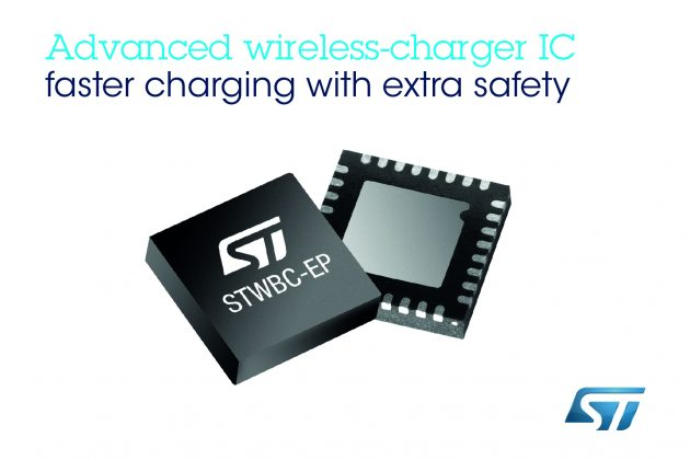 Advanced Wireless Charging Chip from STMicroelectronics For Speed Charging Devices