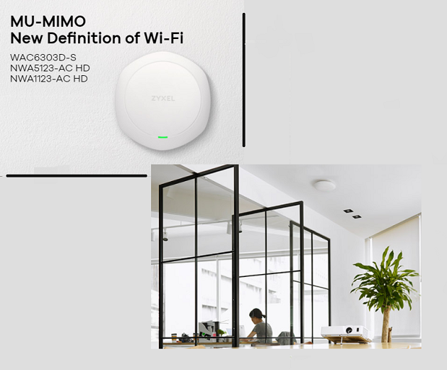 Zyxel tackles 11ac Wave 2 WiFi challenges with new wireless