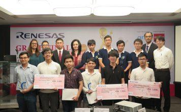 Renesas-Electronics Embedded Design Contest