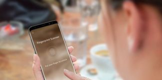 Smartphones fingerprint-scanner