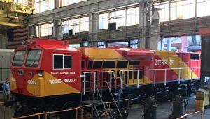 GE-Locomotives diesel-electric locos