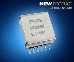 Mouser-epcos Pulse Transformers