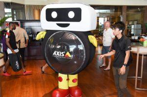 Axis Mascot