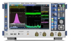 R&S high-performance oscilloscope