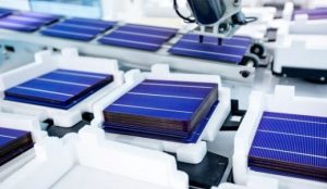 solar panels manufacturing