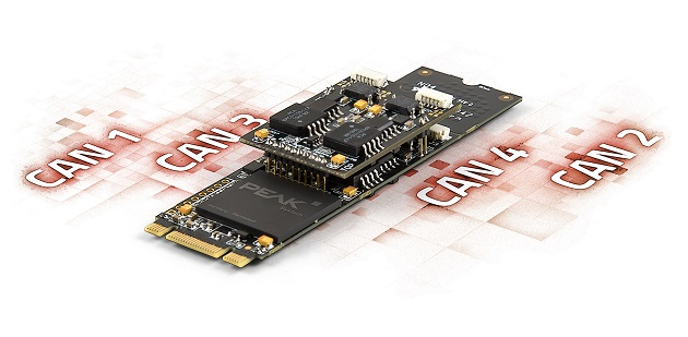 Four Channel CAN FD Expansion Board