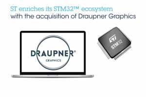 STMicro acquires Draupner