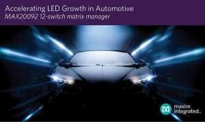 LED Matrix Manager Empowers High-Density Automotive Matrix and Pixel Lighting