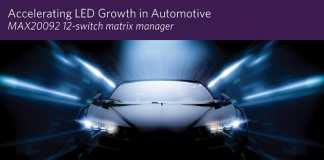 LED Matrix Manager Empowers High-Density Automotive Matrix and Pixel Lighting