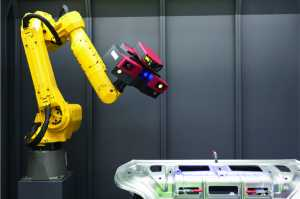 Robotic arm with 3D scanner