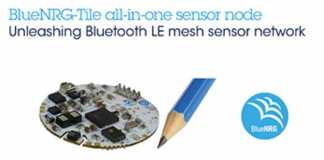 Tiny Coin-Shaped Development Kit Delivers Sensor Fusion, Voice Capturing, and Bluetooth 5.0 Mesh Networking