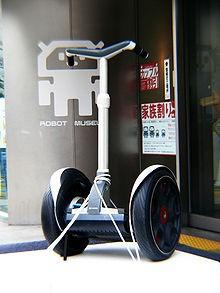 Two-wheeled balancing robots