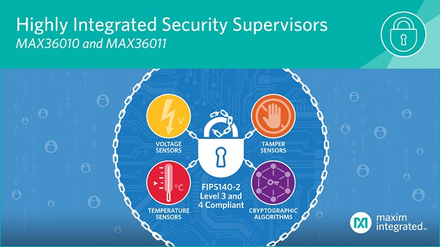 Single-Chip Security Solutions Offer Simple Implementation While Safeguarding Sensitive IoT Data