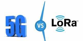 5g vs loRa